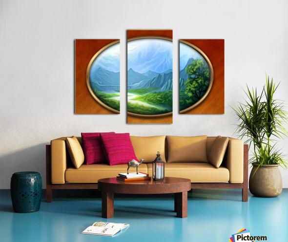 Landscape12 Canvas print