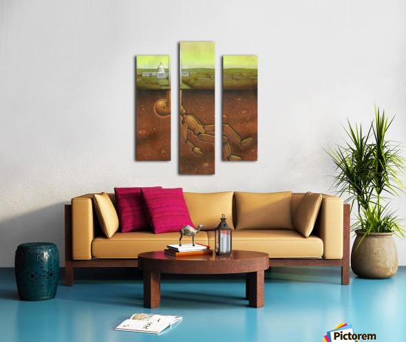 Pawel Kuczynski 25 Canvas print