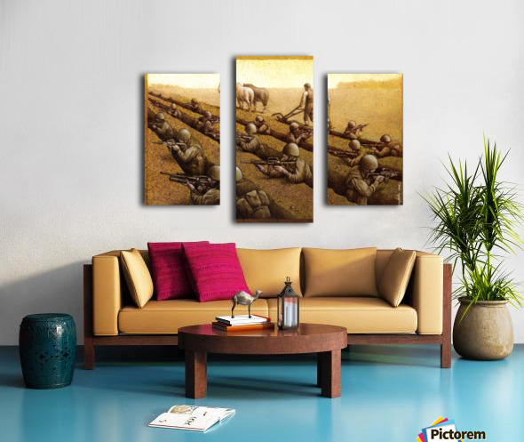 Pawel Kuczynski 26 Canvas print