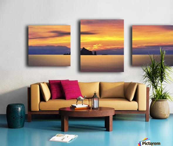 Olympic Sunset 2 Canvas print