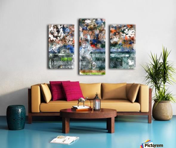 ALEX BREGMAN Water Color Print - Houston Astros print  Canvas print