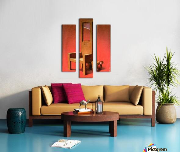 Throne Canvas print