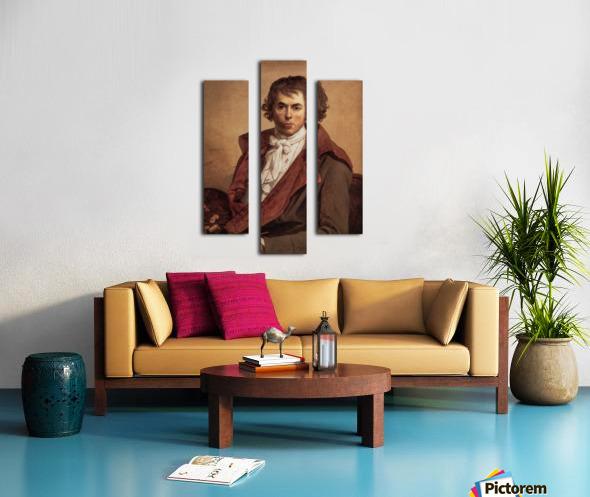 David Self Portrait Canvas print