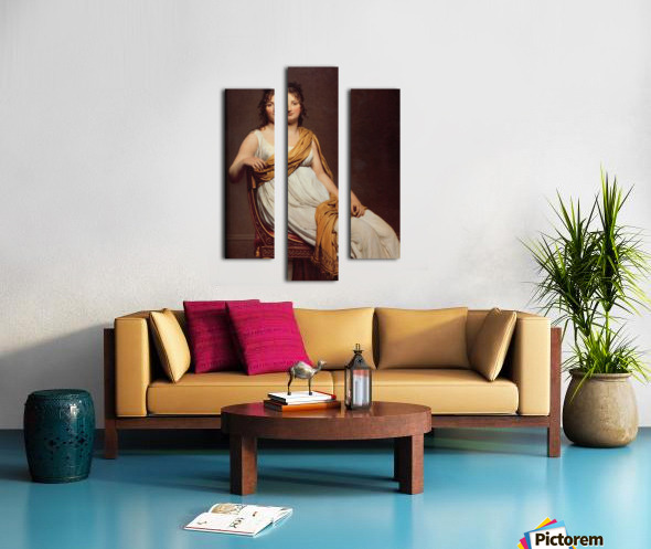 Madame Raymond Canvas print