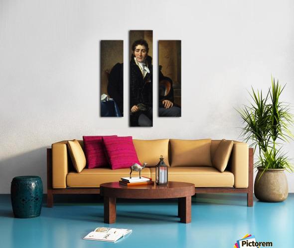 Portrait of Greve Canvas print