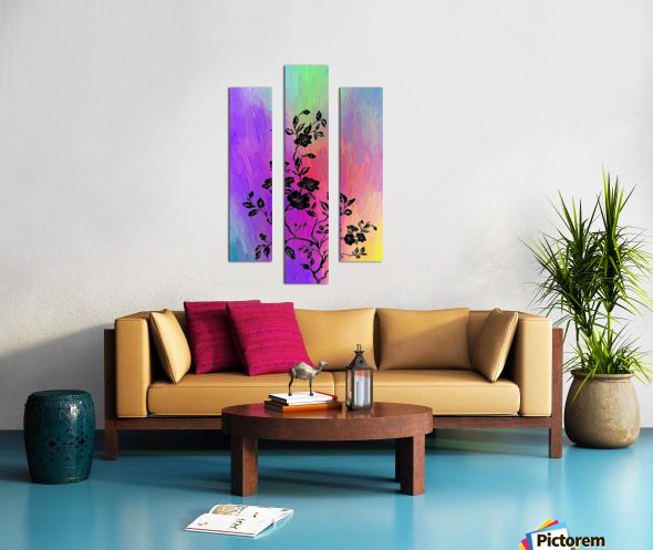 Modern interior design 14 Canvas print