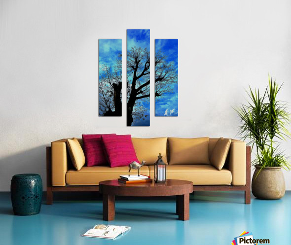 Tree Without Leaf Canvas print