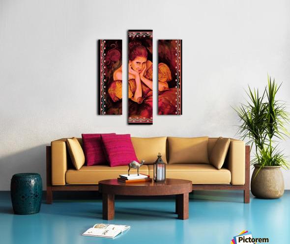 Flirty Girl  Impression sur toile