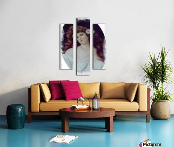 Titian Beauty Impression sur toile