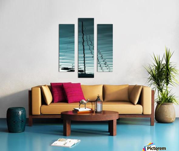 Sailboat Ripples Canvas print