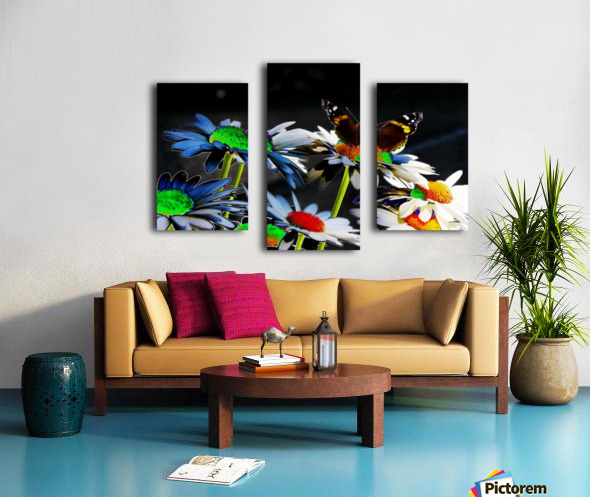 Couleurs en nature Canvas print