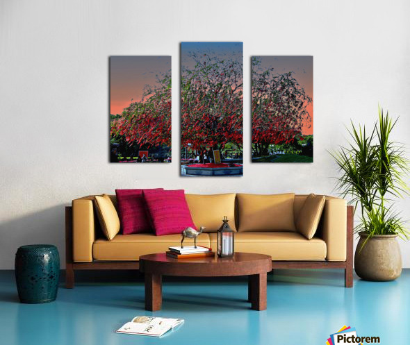 Cloud and Tree Canvas print