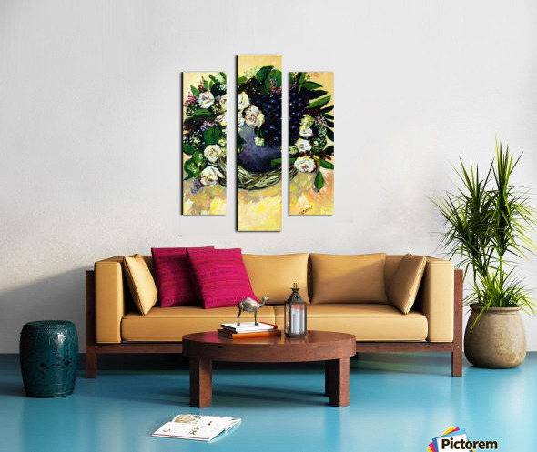 Bauhinia Variegata Canvas print