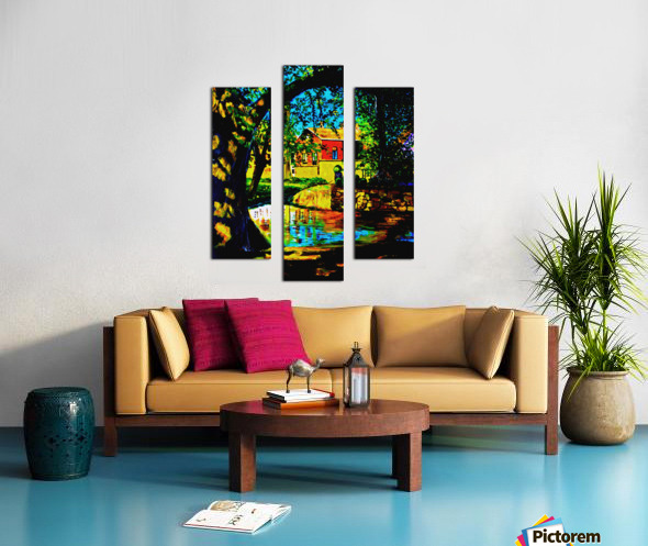 The Lotus Canvas print