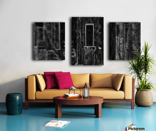 Yesteryear_Storage Room Canvas print