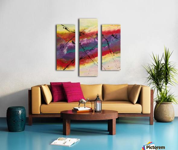 La lumière Canvas print