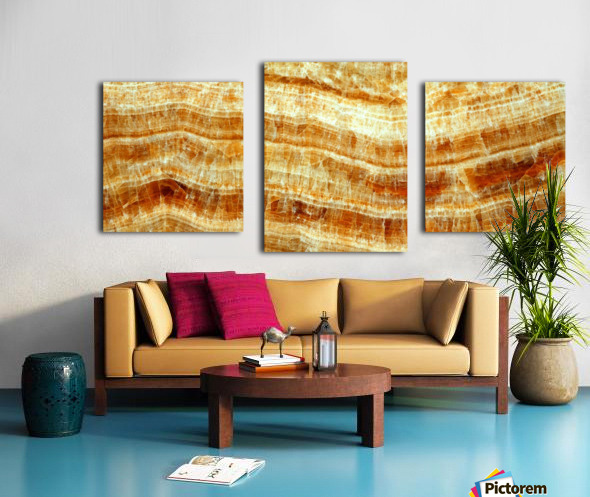 marble 2 Beautiful abstract illustration for interior decoration. Canvas print