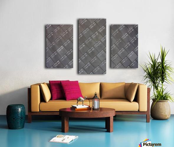 Space Shuttle Tiles Canvas print