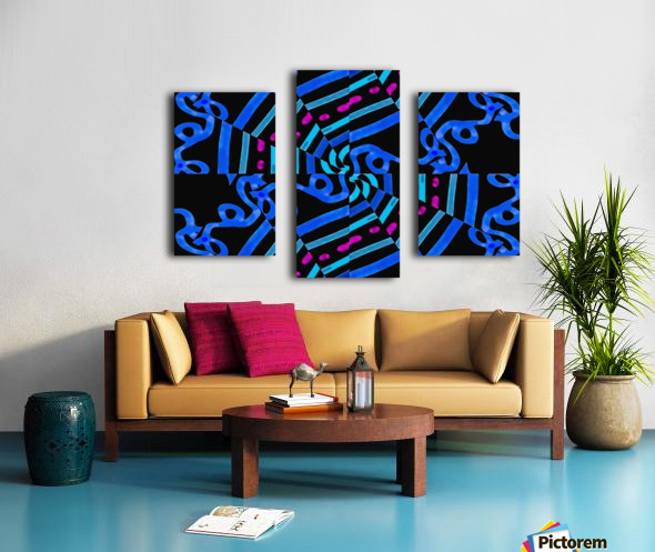 Modern Ornate Abstract Artwork Canvas print