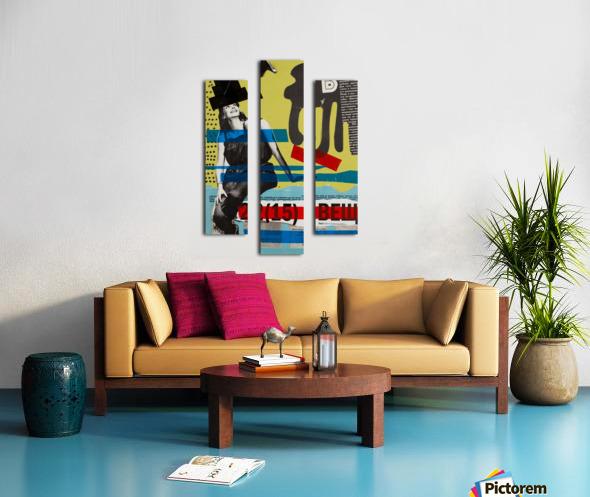An Opinion 24 x 36 base Canvas print