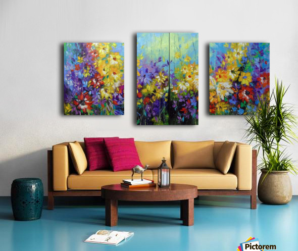 Bright melody  Canvas print