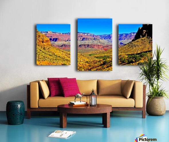 Grand Canyon  Bright Angel Trail 15 Canvas print