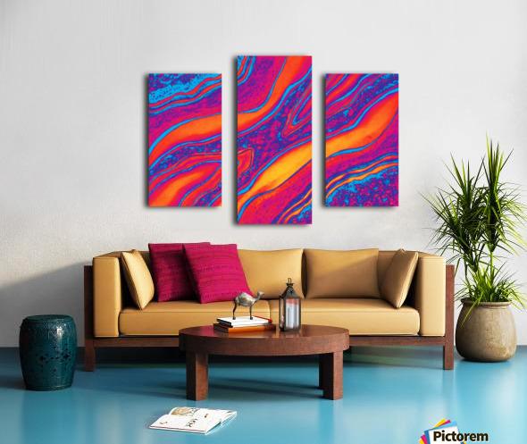 Intense Emotions Canvas print