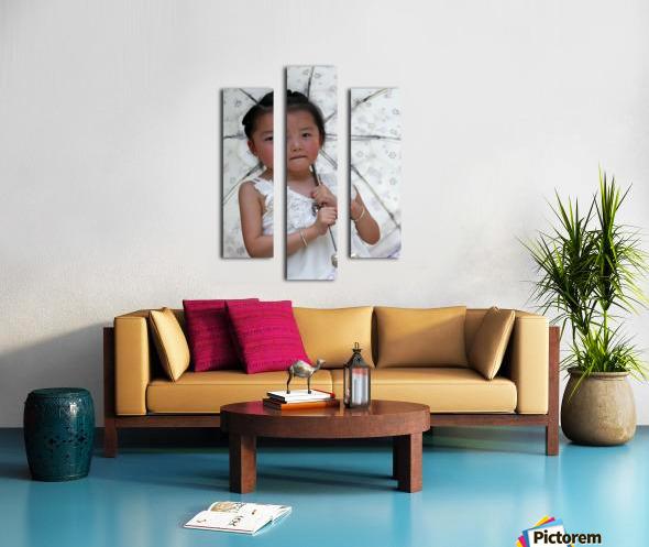Beijing Princess Canvas print