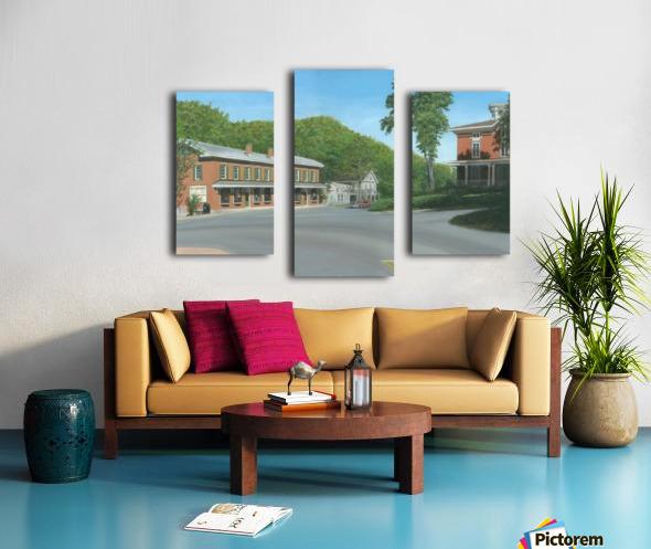 The Brick Store - Newtown Scenes 18 X 26  Canvas print