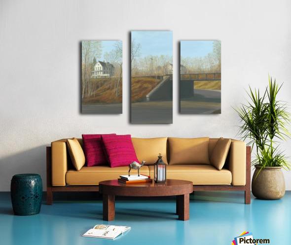 Botsford Underpass - Newtown Scenes  18X24 Canvas print