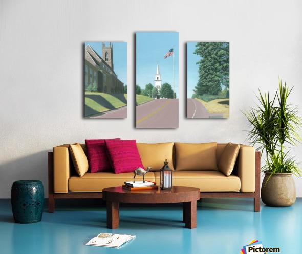 Church Hill Road - Newtown Scenes 16X20 Canvas print