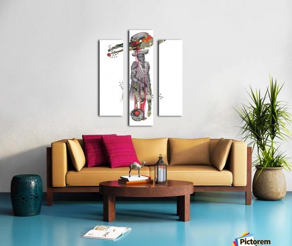 Herero Woman 8 Canvas print
