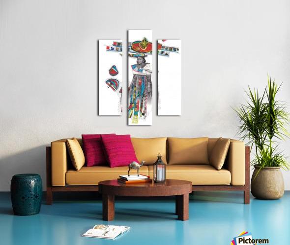Herero Woman 7 Canvas print