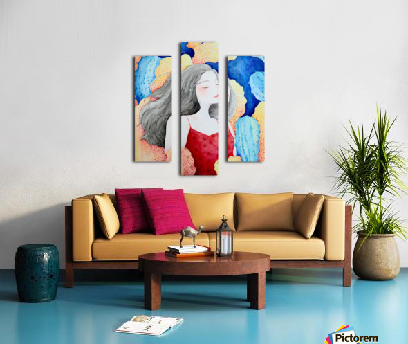 Yearning Canvas print