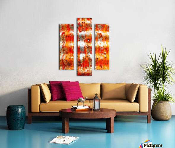 Corrugated Iron Series 13 Canvas print