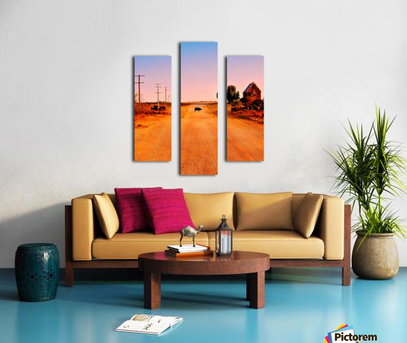 Quirky Sights of the Outback 1 Canvas print
