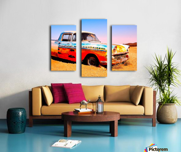 Quirky Sights of the Outback 4 Canvas print