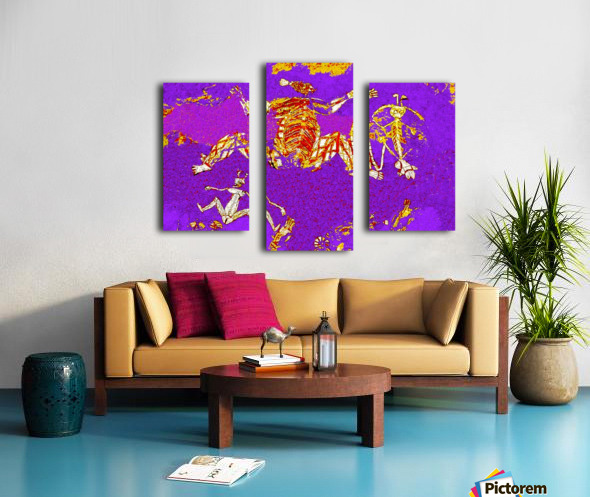 Pop Art - Rock Art 5 Canvas print
