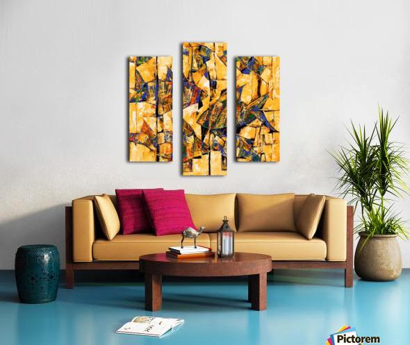 FLOW OF DREAMS_5 18x18 Canvas print