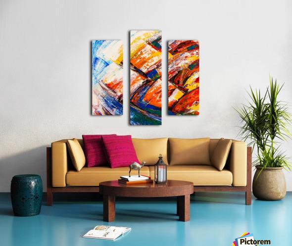FLOW OF DREAMS_7 - 18x18 Canvas print