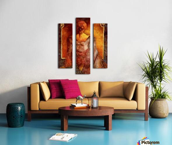 Femme Africaine Canvas print