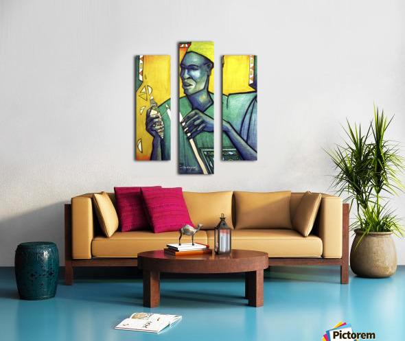 Tisserand Canvas print