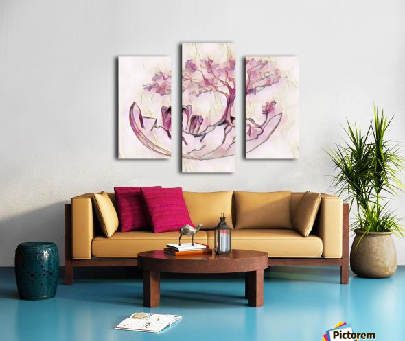 Cocon déléphants Canvas print