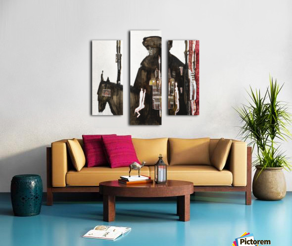 Shadow horserider 1 Impression sur toile