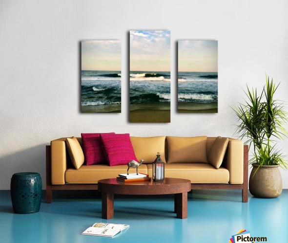 July Surf Canvas print