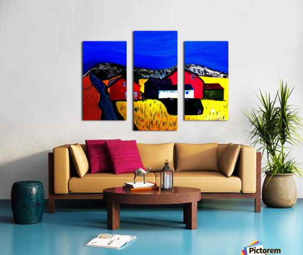 Farm Land Canvas print