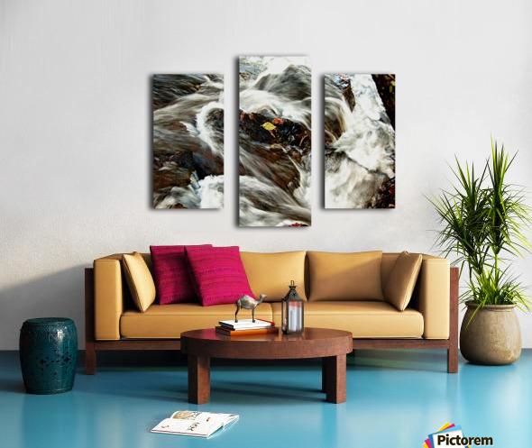 Rushing Stream Canvas print