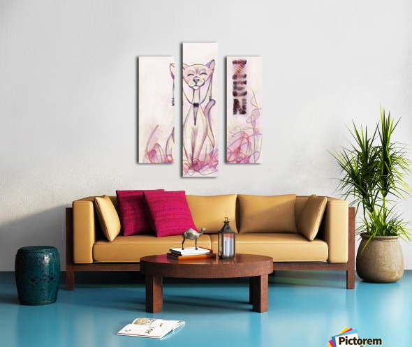 chat zen Canvas print