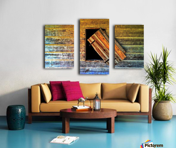 Hanging on Canvas print