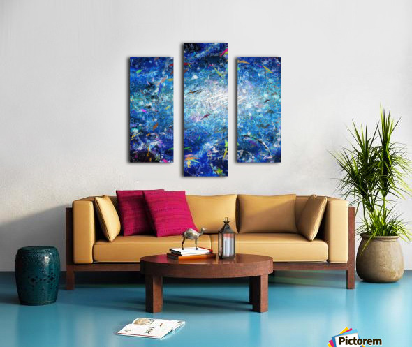 Abstract Canvas Canvas print